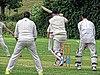 Highgate Irregulars CC v Bohemians CC at Mill Hill, London England 43.jpg