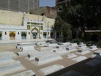 Hijron Ka Khanqah - Hijron Ka Khanqah – Wall Mosque and Tombs