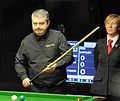 Hilde Moens and Marcus Campbell at Snooker German Masters (Martin Rulsch) 2014-01-29 01.jpg