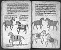 Hindi Manuscript 191, fols 74 verso 75 recto Wellcome L0024267.jpg