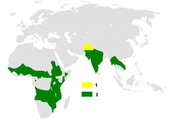 Hirundo smithii distribution map.png