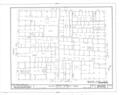 Historic Zone, Block Study, Calle de las Cruz,Sol,Luna and San Jose, San Juan, San Juan Municipio, PR HABS PR,7-SAJU,42- (sheet 2 of 12).png