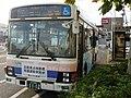 Hitachi Dentetsu 1112 at Ōmika Station 01.jpg