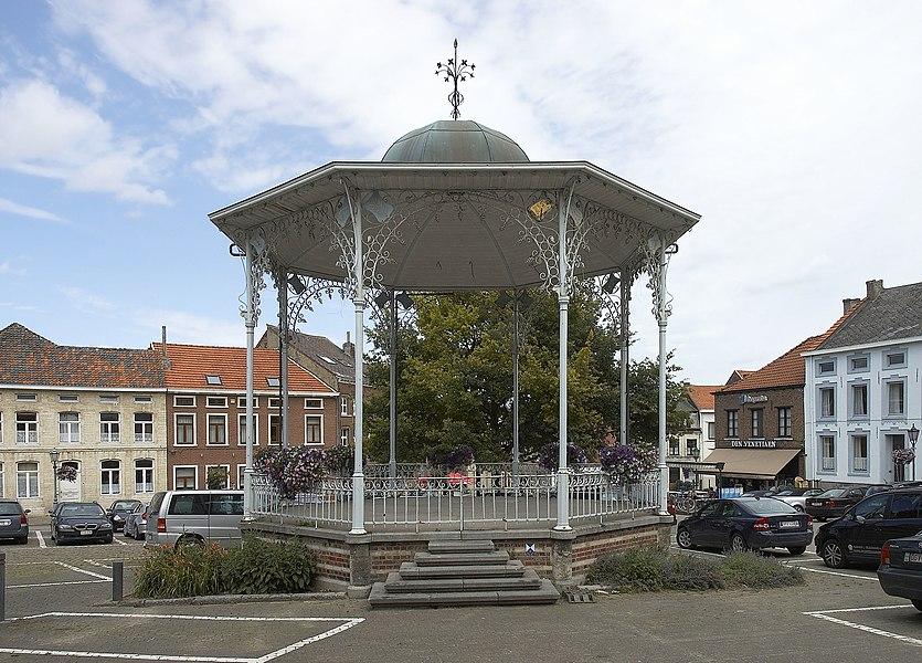 Bandstand in Hoegaarden in Belgium