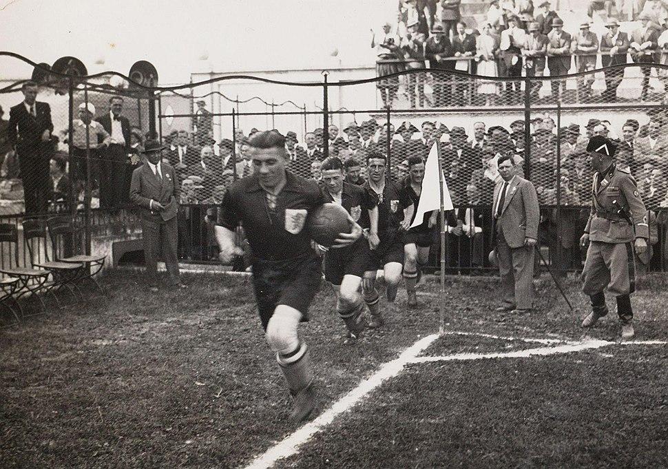 Holland - Switzerland - Football World Cup 1934