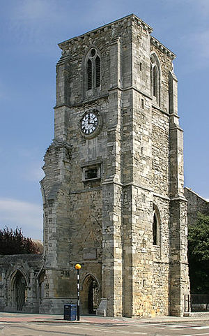 Holyrood Church - Holyrood Church, Southampton.