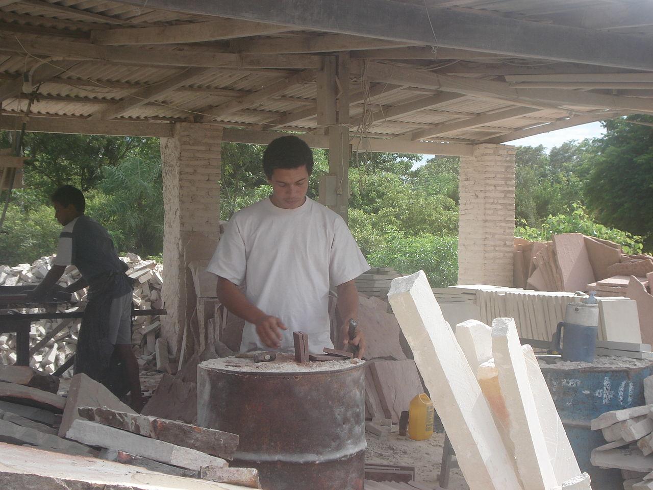 Hombres Trabajando