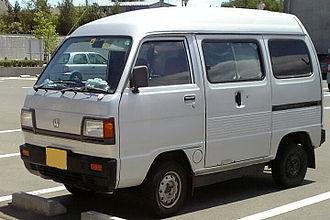 Honda Acty - 1985 Honda Street (late 1st gen)