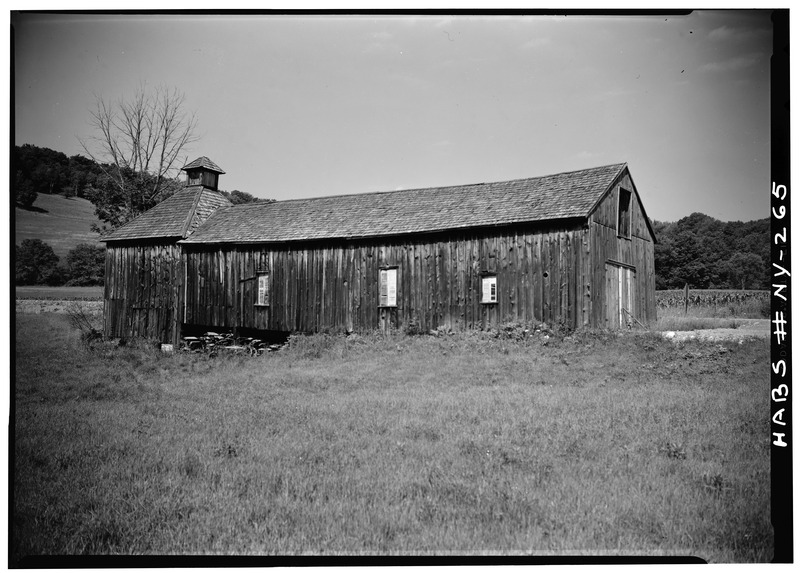 File:Hop Barn and Kiln, Middlefield Center, Otsego County, NY HABS NY,39-MIDFI.V,1-1.tif