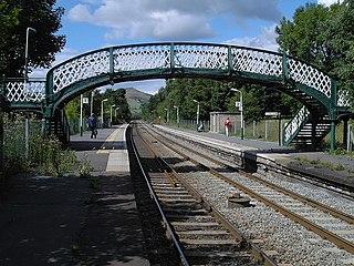 Hope railway station (England) Railway station in Derbyshire, England