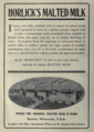 "Horlick's Malted Milk (""American medical directory"", 1906 advert).png"