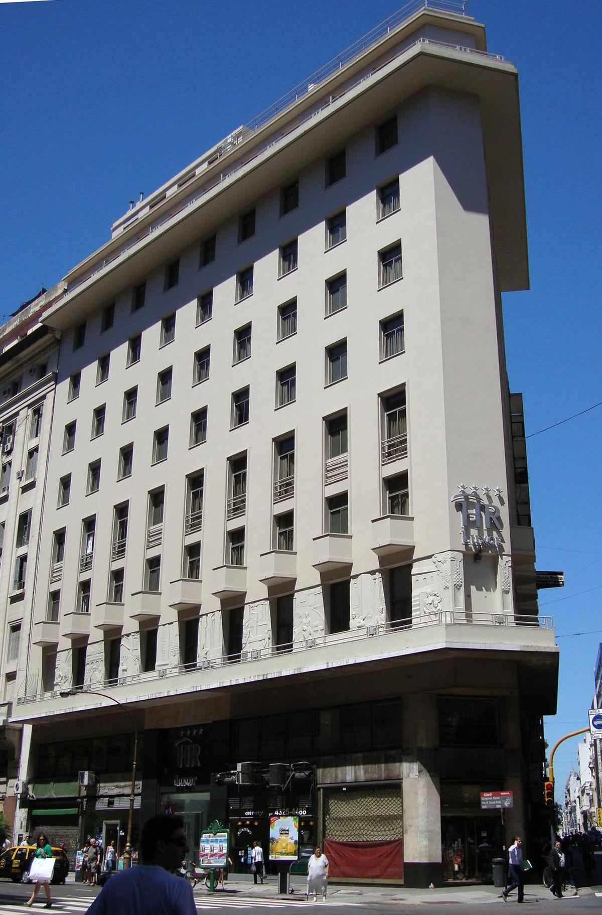 Hotel reconquista luxor wikipedia la enciclopedia libre for Art deco hotel buenos aires