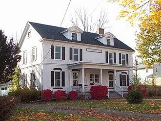 Mount Morris (village), New York - Image: House at No 176 South Main Street Oct 09