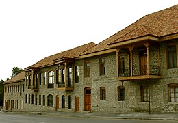House of Farhadbayovs in Shaki