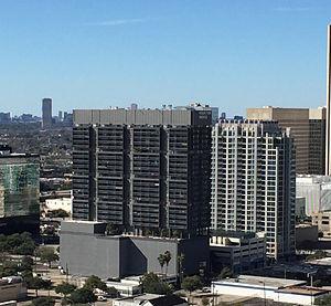 Houston House Apartments - Image: Houston House and Sky House Houston