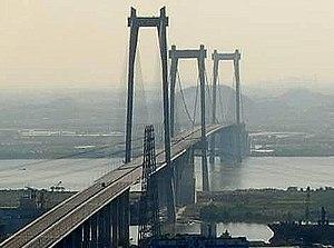 Huangpu Bridge - Image: Huangpu Bridge 2