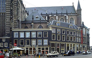 Nieuwe Kerk, Amsterdam - Image: Huisjes