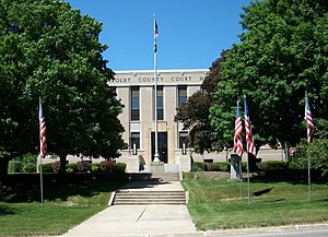 Humboldt County, Iowa - Image: Humboldt County Courthouse (Dakota City, IA)
