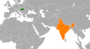 Hungary India Locator.png