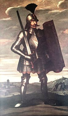 17th-century painting of Hunyadi