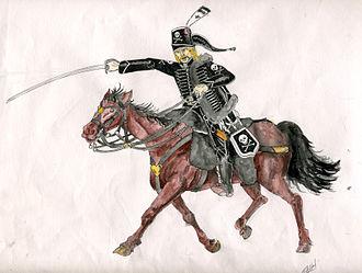 Hussards de la Mort - Image: Hussard de la mort