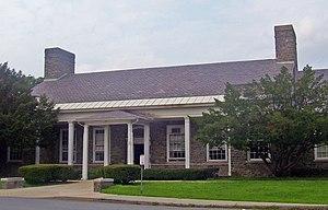 Hyde Park Elementary School - Front entrance of school building