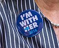 I'm with her button - Akron Ohio - 2016-10-03 (29986738412).jpg