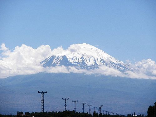 Mount Ararat as seen from Igdir Igdirdan Agri Dagi.jpg