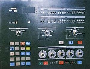 IBM 3705 Communications Controller - IBM 3705 front panel