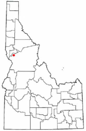 Battle of Cottonwood - The location of the Battle of Cottonwood in Idaho