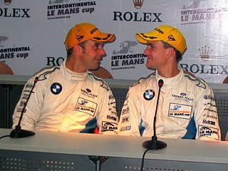 Dirk Werner German racecar driver