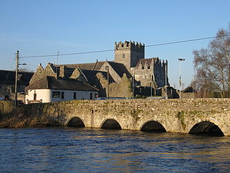 Holy Cross Abbey - Holy Cross Abbey on the River Suir