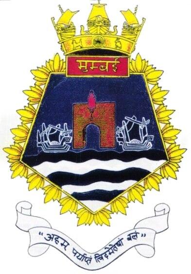 Seal of INS Mumbai