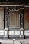 interieur, eerste verdieping, kamer, gemarmerde wand, detail - leiden - 20263771 - rce