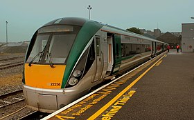 IRISH RAIL INTERCITY 22000 DMU AT GALWAY STATION IRELAND JULY 2013 (9197668589).jpg