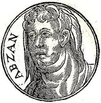 Ibzan - Ibzan from Promptuarii Iconum Insigniorum