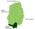 Ichinoseki in Iwate Prefecture.png