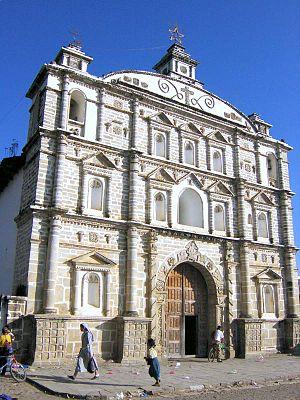 Zacualpa - Main church