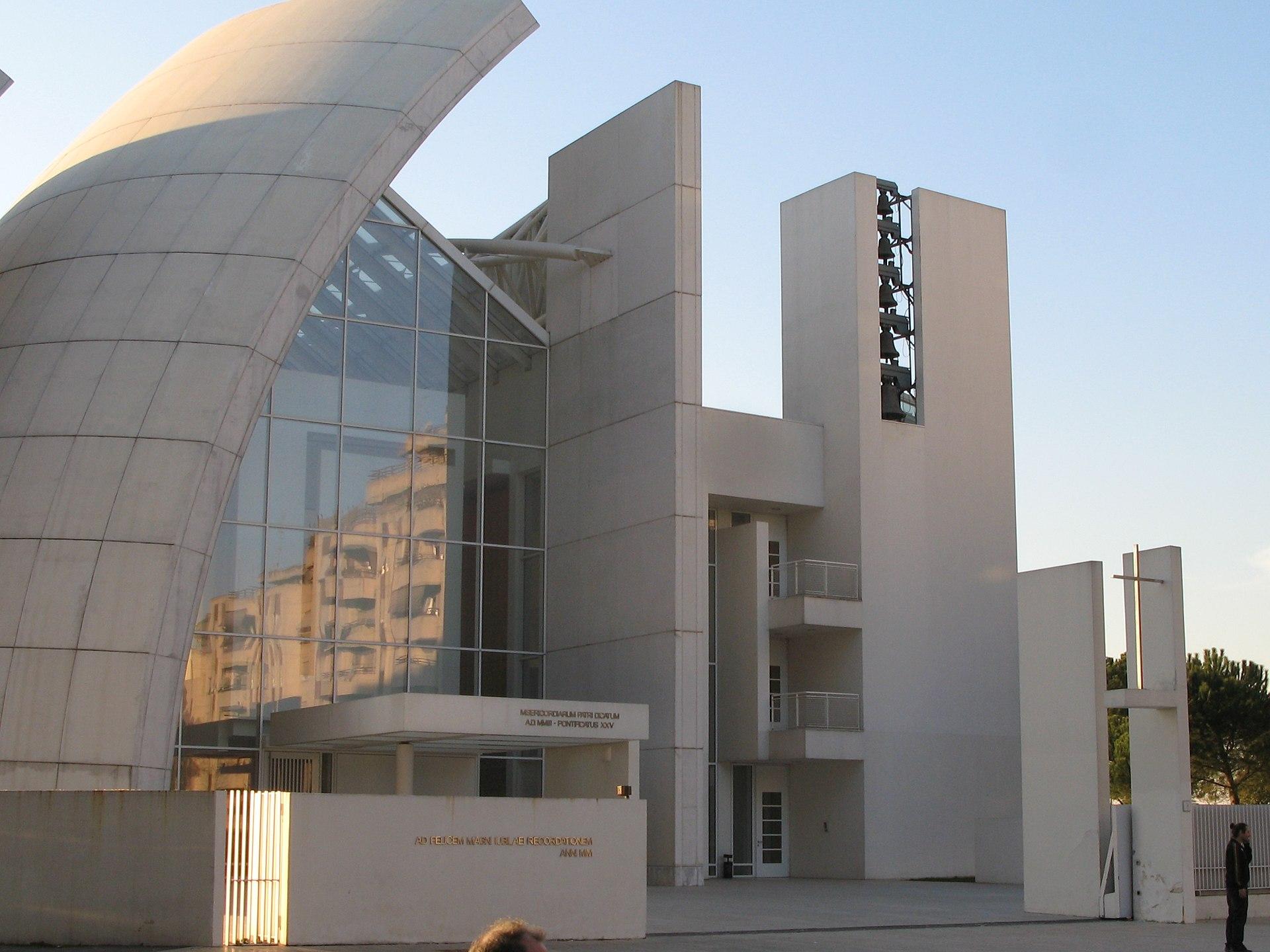 Chiesa di dio padre misericordioso wikipedia for Richard meier architetto