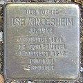 Ilse Windesheim - Sierichstraße 127 (Hamburg-Winterhude).Stolperstein.crop.ajb.jpg