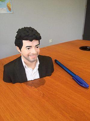 Exemple de statuette obtenue par impression 3D
