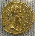 Impero, augusto, aureo, 19 ac..JPG