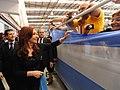 Inauguración del nuevo hangar de Aerolíneas Argentinas en Aeroparque 03.jpg