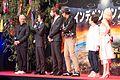 Independence Day- Resurgence Japan Premiere- Roland Emmerich, Fujiwara Tatsuya, Liam Hemsworth, Jeff Goldblum & Maika Monroe (28474000572).jpg