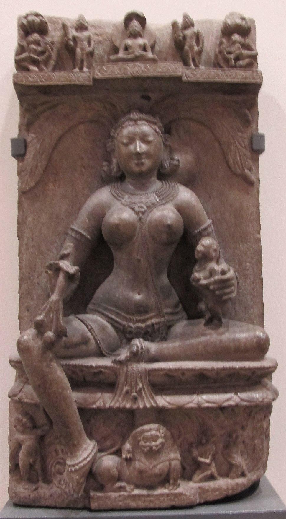 India, orissa, dea ambika, 1150-1200