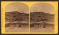 Indian pueblo of Zuni, New Mexico; view from the interior, by O'Sullivan, Timothy H., 1840-1882.png