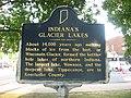 Indiana's Glacier Lakes historical marker.jpg