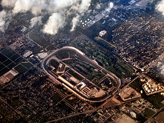 Speedway, Indiana - Speedway and Indianapolis Motor Speedway in 2005.
