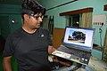 Indrajit Das Showing Winning Photograph - Kalpataru Tree - Wikimedia Meetup - AMPS - Kolkata 2017-04-23 6929.JPG