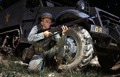 WWII Infantryman